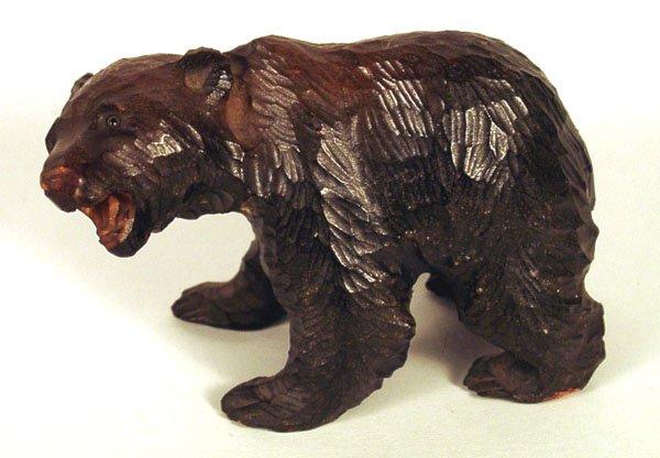 медведь статуя резная купить дерево