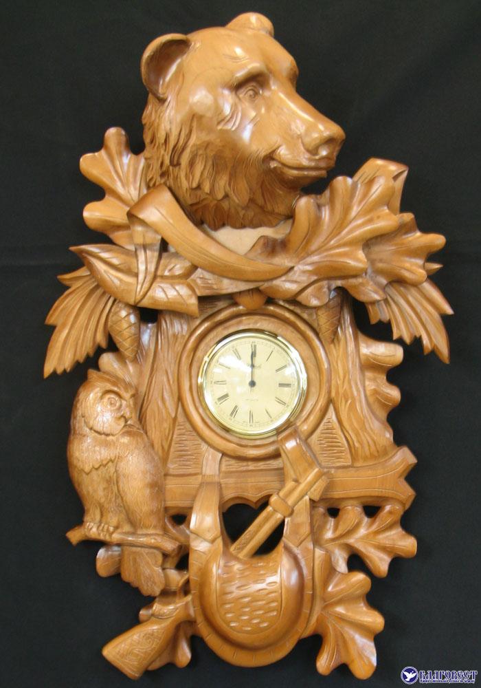 часы из дерева ручная работа заказать