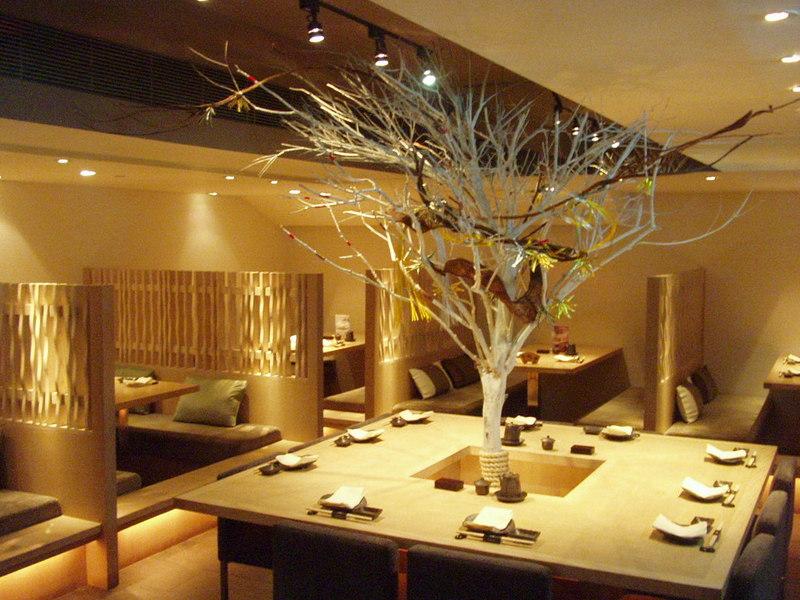 красивое оформление китайского ресторана