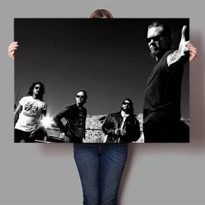 постер Metallica купить постеры рок-групп недорого