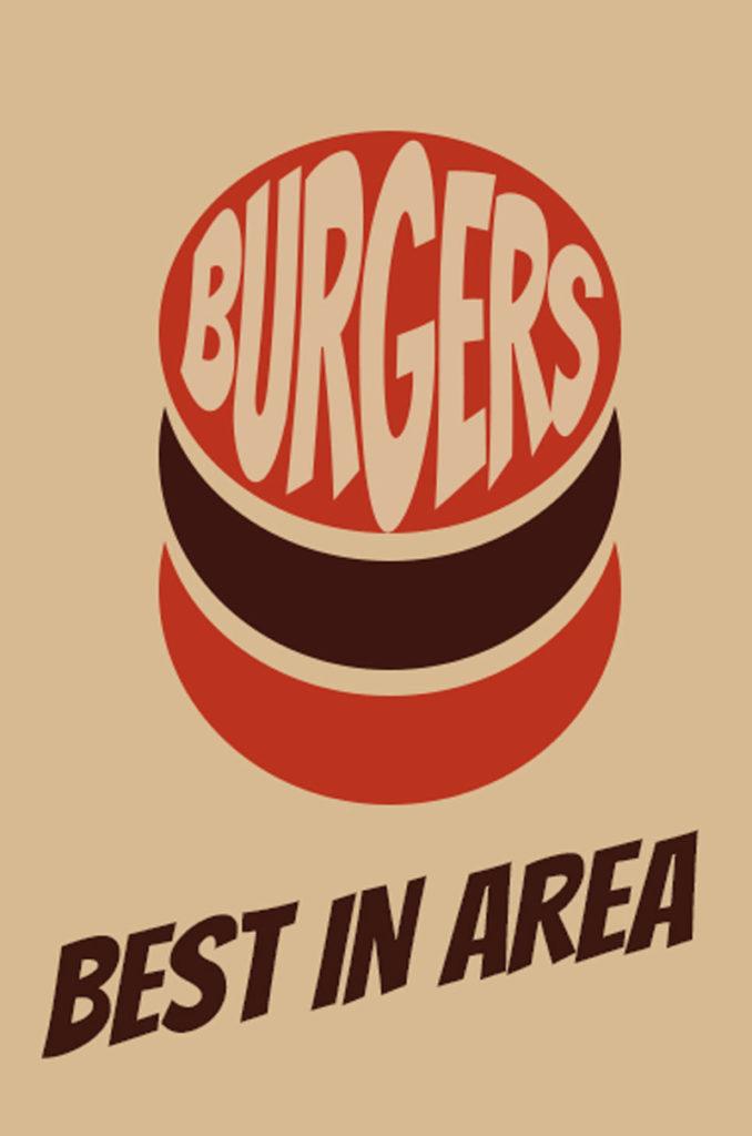 постер про бургеры скачать для гриль бара бесплатно