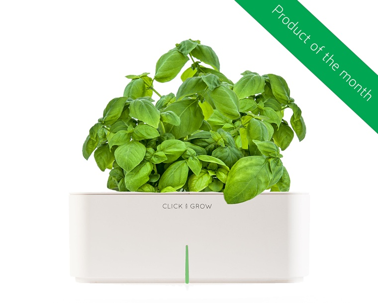 Электронный горшок с зеленью базилик Click&Grow купить интернет магазин бесплатная доставка