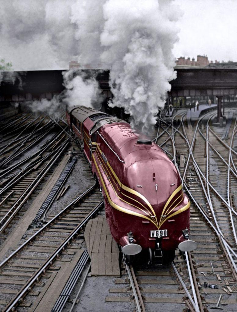 иностранные старые локомотивы