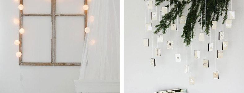 украшение комнаты новый год идеи