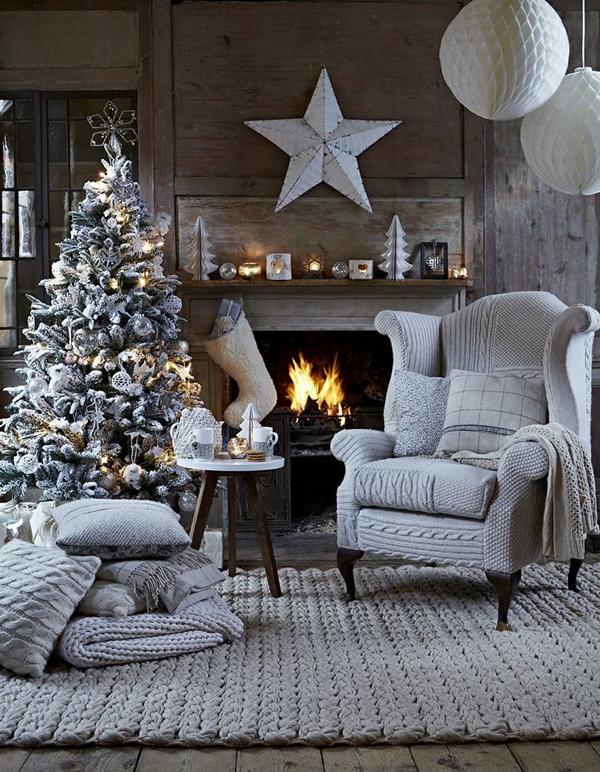 рождественские идеи украшения дома