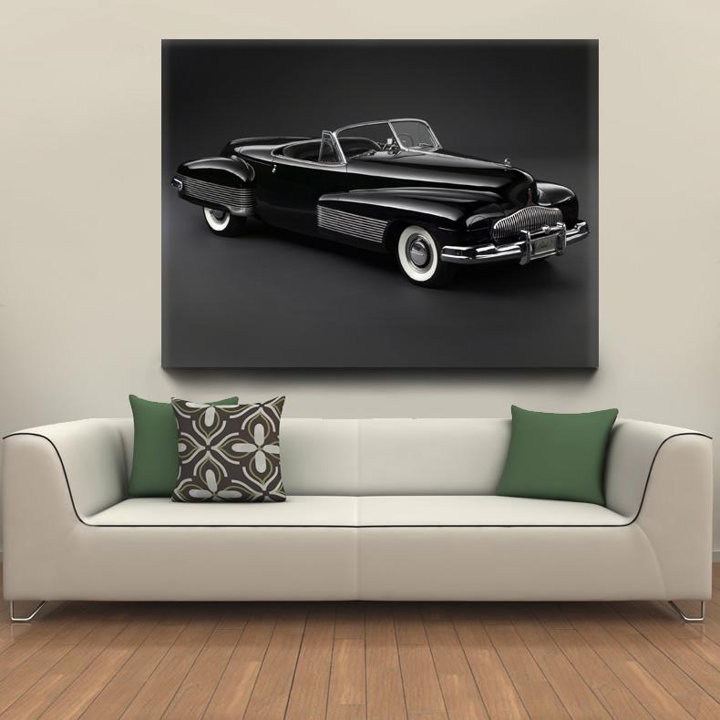 ретро постер картина автомобиль Buick купить интернет-магазин