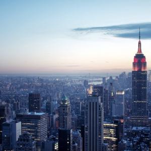 Постер Нью-йорк купить недорого на стену интернет магазин