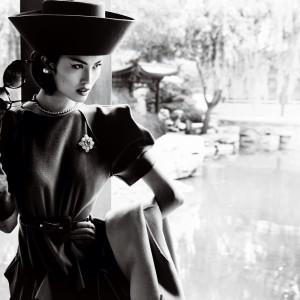 Лофт плакат ретро фотография женщина в шляпке купить интернет магазин