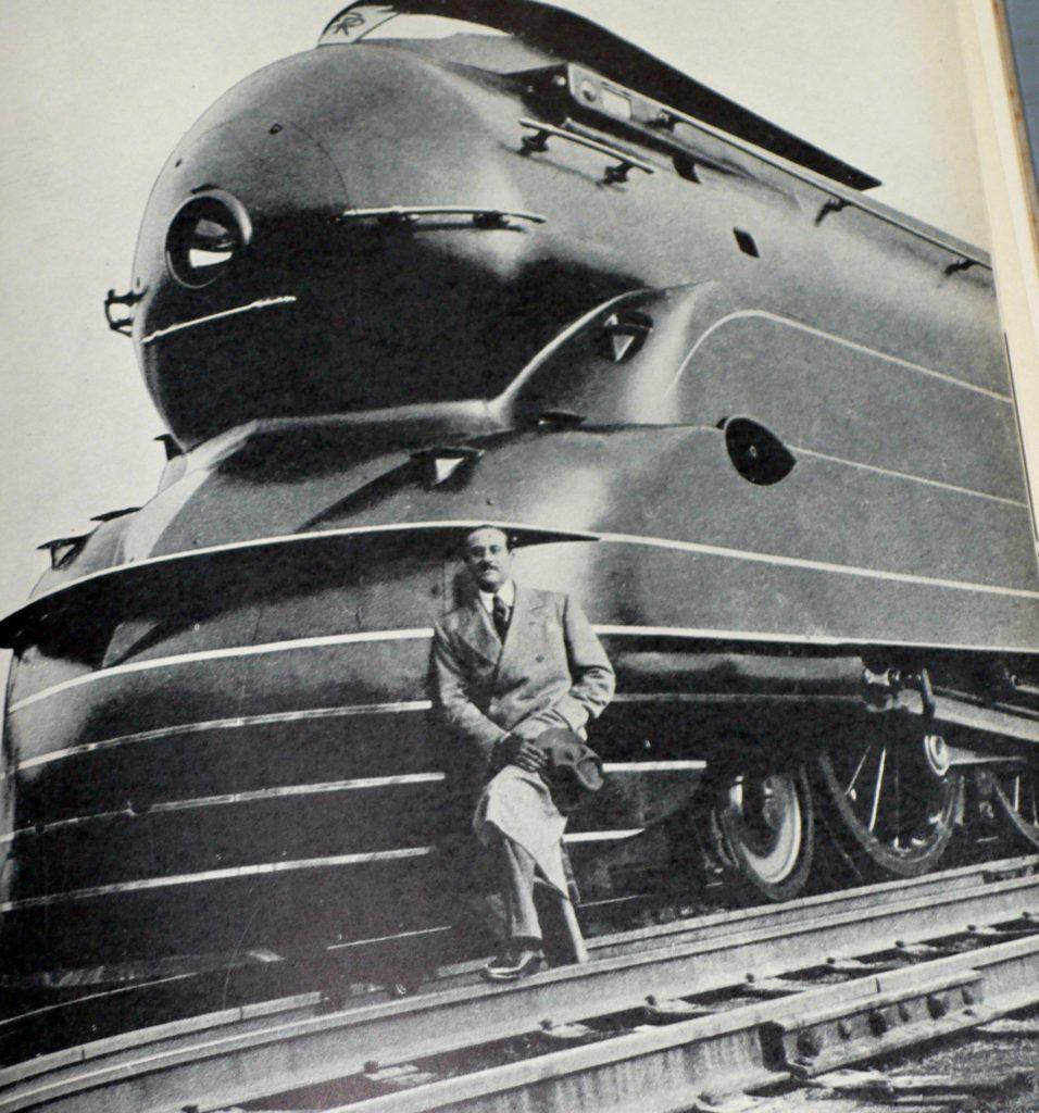 ретро поезд плакат