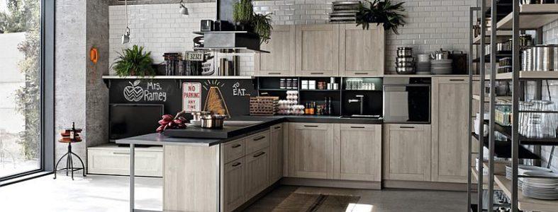 лофт кухня идеи 2018